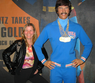 Mark Spitz and me
